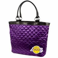 Los Angeles Lakers Quilted Tote Bag