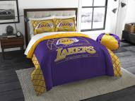 Los Angeles Lakers Reverse Slam Full/Queen Comforter Set