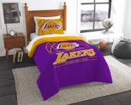 Los Angeles Lakers Reverse Slam Twin Comforter Set