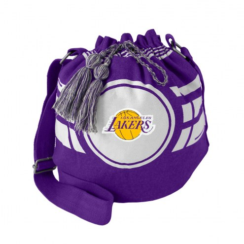 Los Angeles Lakers Ripple Drawstring Bucket Bag