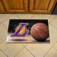 Los Angeles Lakers Scraper Door Mat