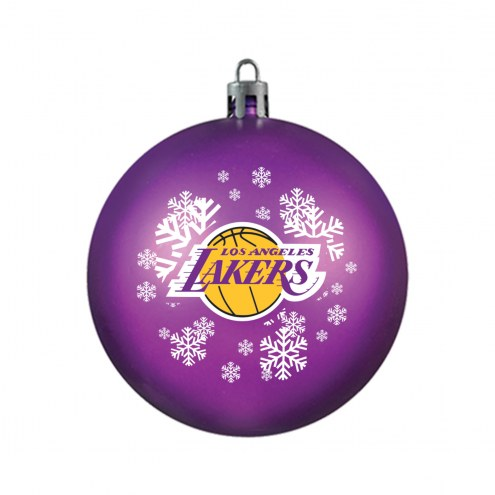 Los Angeles Lakers Shatterproof Ball Ornament