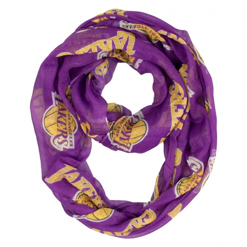 Los Angeles Lakers Sheer Infinity Scarf