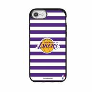 Los Angeles Lakers Speck iPhone 8/7/6s/6 Presidio Stripes Case