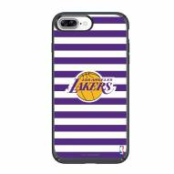 Los Angeles Lakers Speck iPhone 8 Plus/7 Plus Presidio Stripes Case