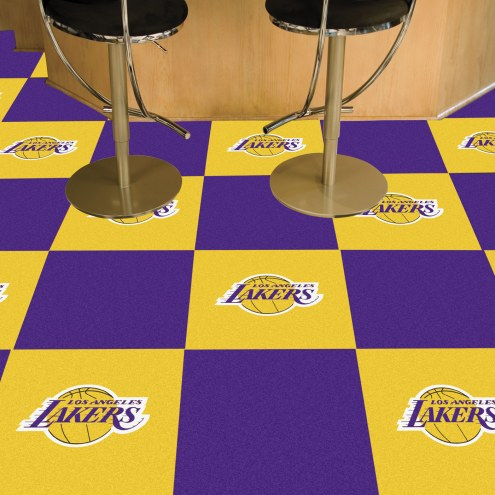 Los Angeles Lakers Team Carpet Tiles