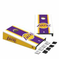Los Angeles Lakers Mini Cornhole Set