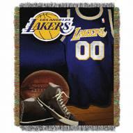 Los Angeles Lakers Vintage Throw Blanket