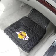 Los Angeles Lakers Vinyl 2-Piece Car Floor Mats