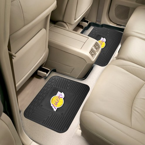 Los Angeles Lakers Vinyl 2-Piece Rear Floor Mats