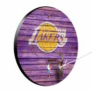 Los Angeles Lakers Weathered Design Hook & Ring Game