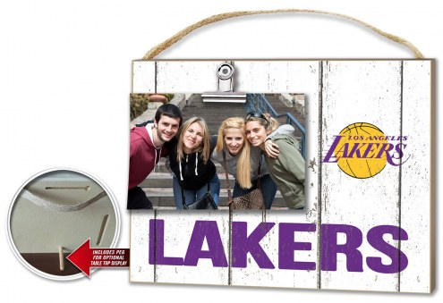 Los Angeles Lakers Weathered Logo Photo Frame