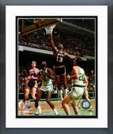 Los Angeles Lakers Wilt Chamberlain 1968 Action Framed Photo