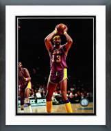 Los Angeles Lakers Wilt Chamberlain 1972 Action Framed Photo