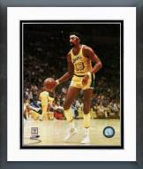 Los Angeles Lakers Wilt Chamberlain Action Framed Photo