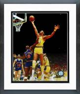 Los Angeles Lakers Wilt Chamberlain Rim Action Framed Photo