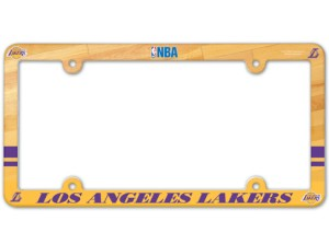 Los Angeles Lakers License Plate Frame