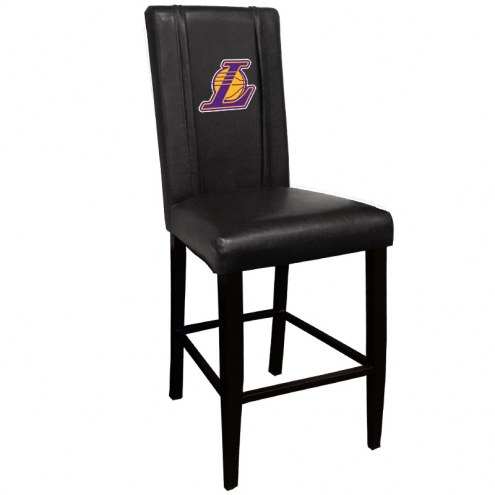 Los Angeles Lakers XZipit Bar Stool 2000 with Secondary Logo