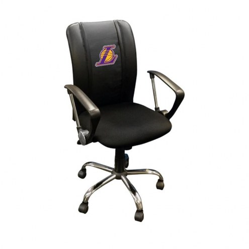 Los Angeles Lakers XZipit Curve Desk Chair with Secondary Logo