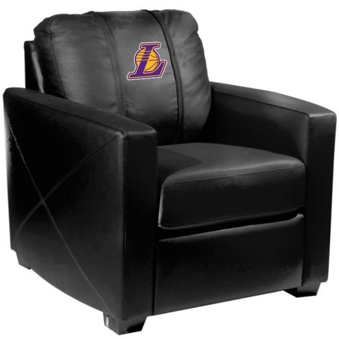 Los Angeles Lakers XZipit Silver Club Chair with Secondary Logo