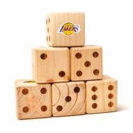 Los Angeles Lakers Yard Dice