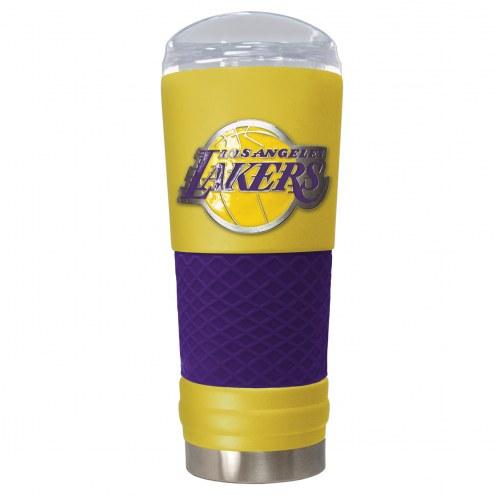Los Angeles Lakers Yellow 24 oz. Powder Coated Draft Tumbler
