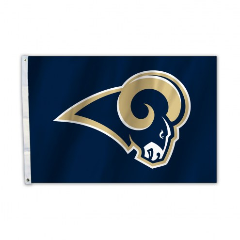 Los Angeles Rams 2' x 3' Logo Flag