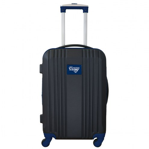 """Los Angeles Rams 21"""" Hardcase Luggage Carry-on Spinner"""