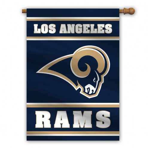 "Los Angeles Rams 28"" x 40"" Banner"