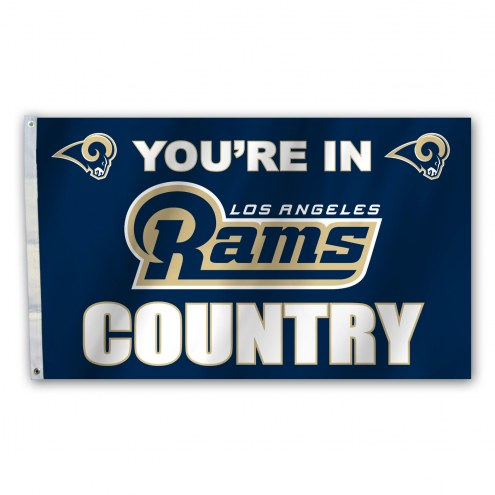 Los Angeles Rams 3' x 5' Country Flag