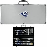 Los Angeles Rams 8 Piece Tailgater BBQ Set