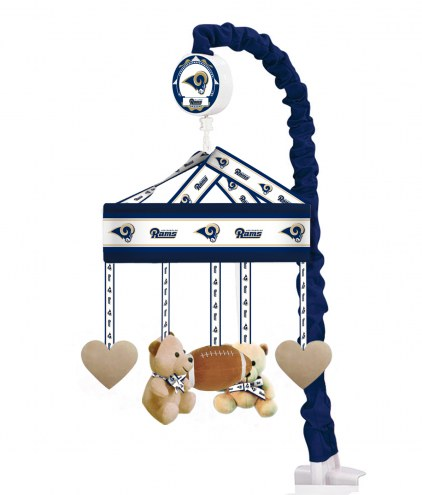 Los Angeles Rams Baby Crib Musical Mobile