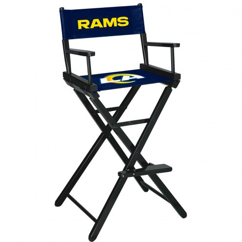 Los Angeles Rams Bar Height Director's Chair