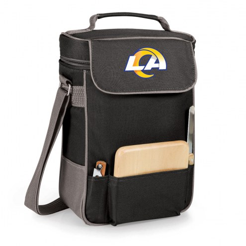 Los Angeles Rams Black Duet Insulated Wine Bag