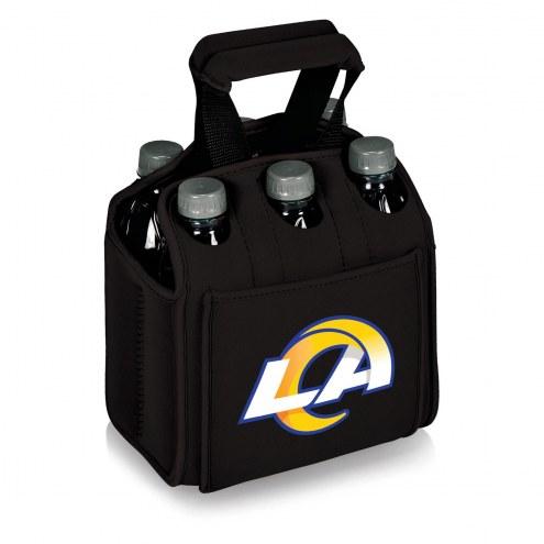 Los Angeles Rams Black Six Pack Cooler Tote