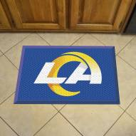 Los Angeles Rams Camo Scraper Door Mat