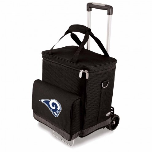 Los Angeles Rams Cellar Cooler with Trolley