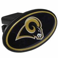 Los Angeles Rams Class III Plastic Hitch Cover