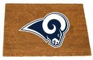 Los Angeles Rams Colored Logo Door Mat