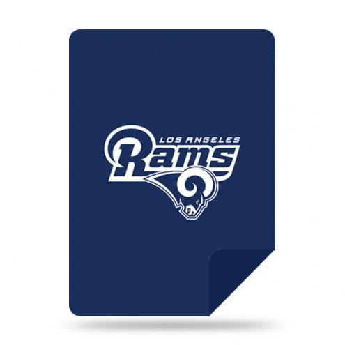 Los Angeles Rams Denali Sliver Knit Throw Blanket