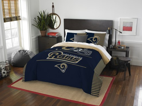 Los Angeles Rams Draft Full/Queen Comforter Set
