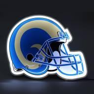 Los Angeles Rams Football Helmet LED Lamp