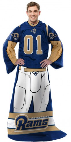 Los Angeles Rams Full Body Comfy Throw Blanket