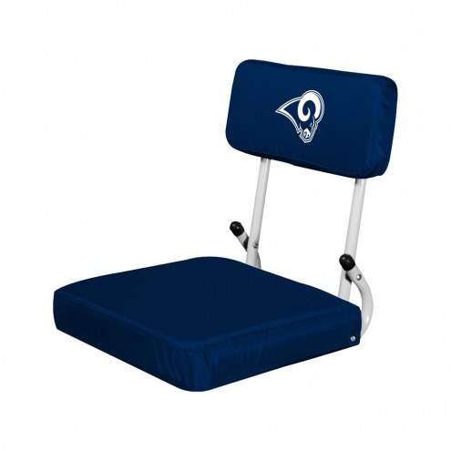 Los Angeles Rams Hardback Stadium Seat