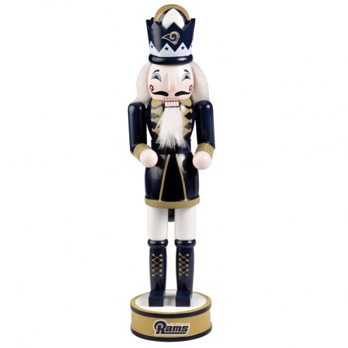 Los Angeles Rams Holiday Nutcracker
