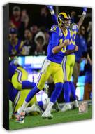 Los Angeles Rams Jared Goff 2018 NFC Divisional Playoff Game Photo