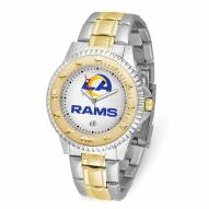 Los Angeles Rams Competitor Two-Tone Men's Watch
