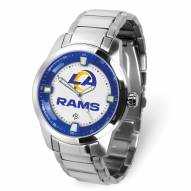 Los Angeles Rams Titan Steel Men's Watch