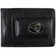 Los Angeles Rams Leather Cash & Cardholder