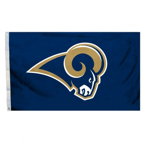 Los Angeles Rams Logo 3' x 5' Flag